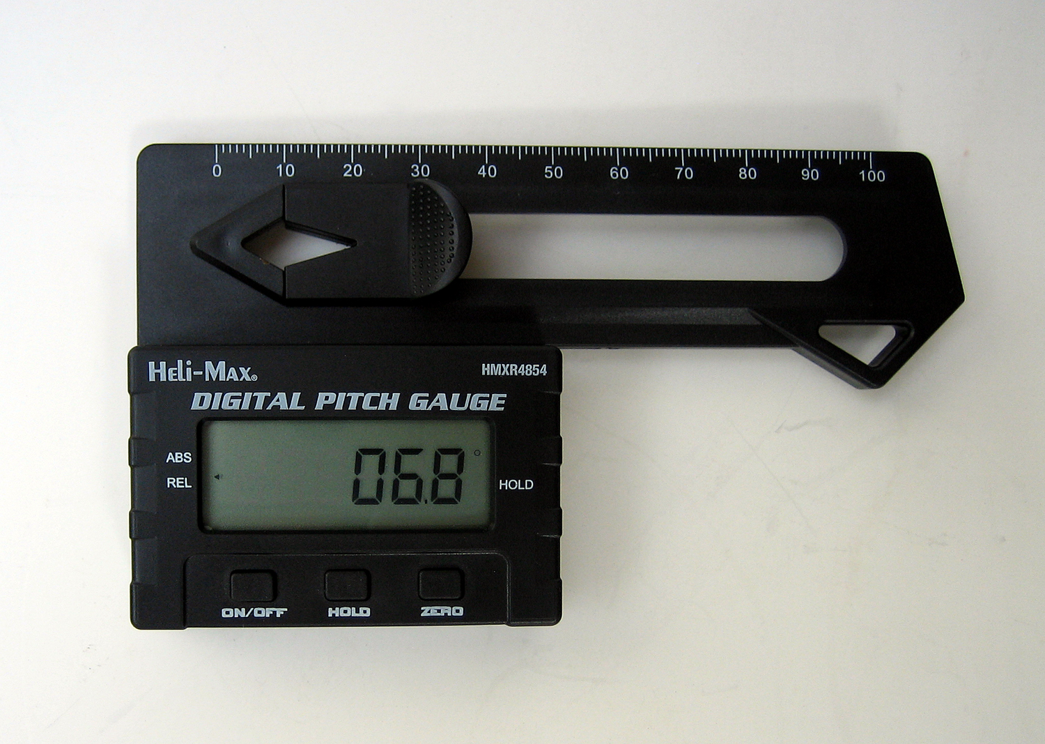 The Heli-Max Digital Pitch Gauge