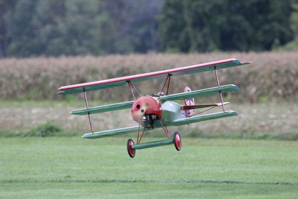 Sal's 1/4-scale Fokker Triplane