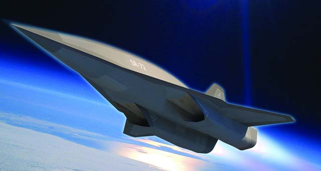 A new SR-72 Concept Plane from Skunk Works