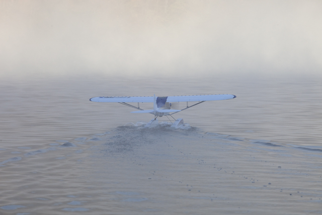 Behinds the Scenes with the E-flite Carbon-Z Cub on Floats