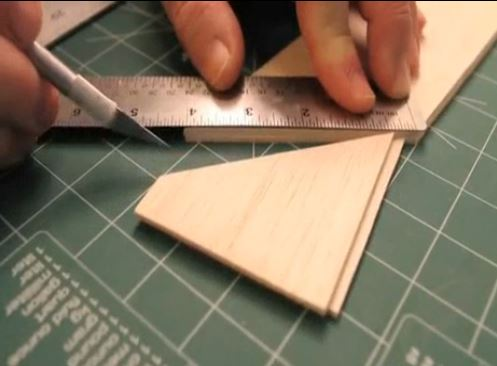 Shop Tip Video — Splicing Balsa Sheeting