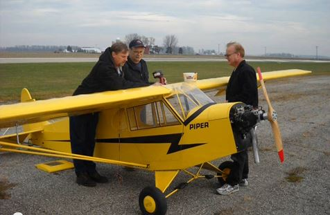 Colossal Cub! 26-foot-span RC aircraft