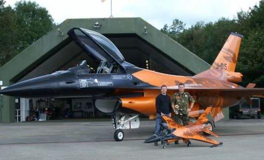 Incredible Orange F-16