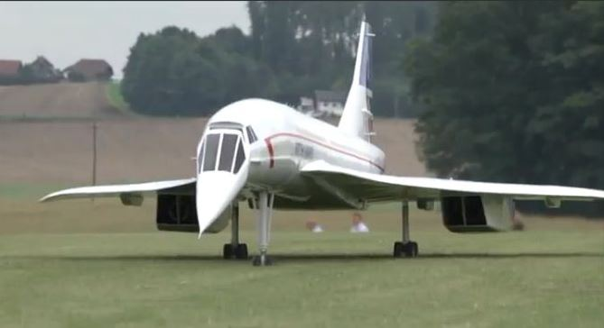 Supersonic Scale: RC Concorde