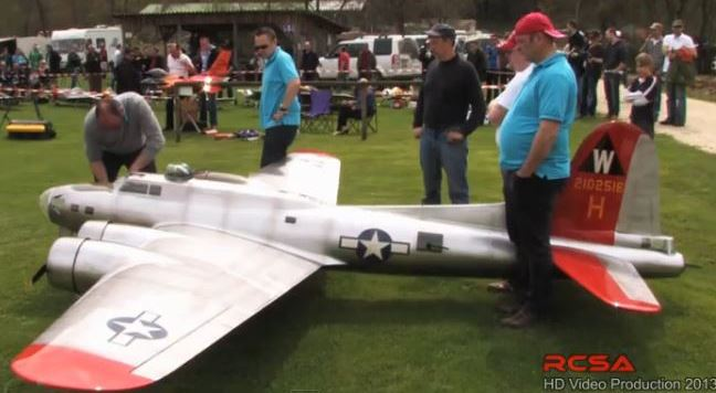 A Beast of a B-17