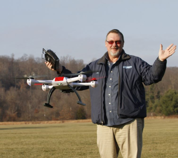 First Test Flight! Blade 350QX quadcopter