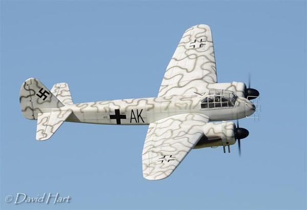 Giant Scale Junker Ju 88 Bomber