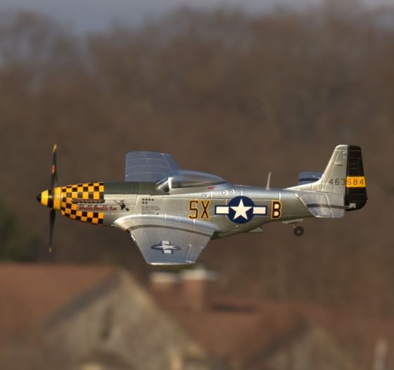 Sneak Peek Video — Weekender Warbird Mustang from Hitec