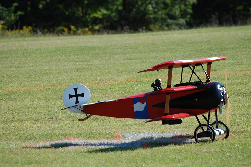 1/3-scale Fokker Triplane