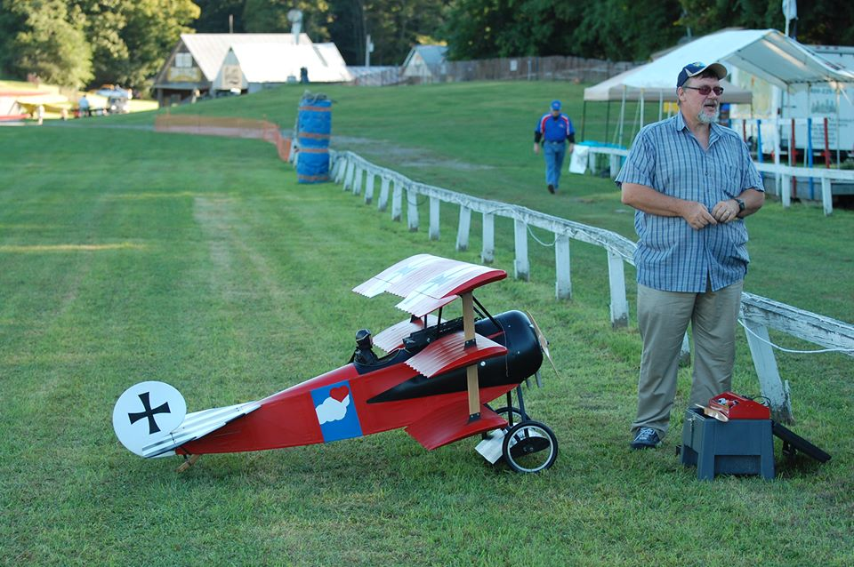 Old Rhinebeck with my Triplane