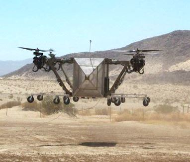 Advanced Tactics VTOL Aircraft