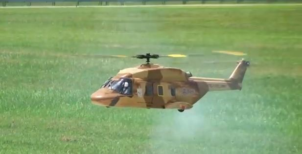 Amazing flight demo by scale NH90