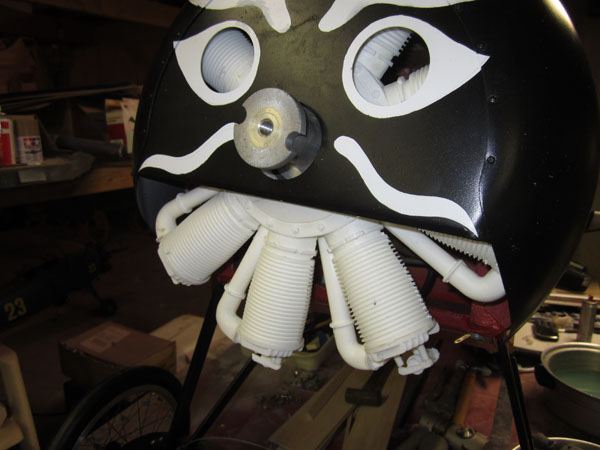 Scale Weathering and Painting -- Making a WW1 Rotary Engine Look Old