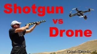 Shotgun vs Drone