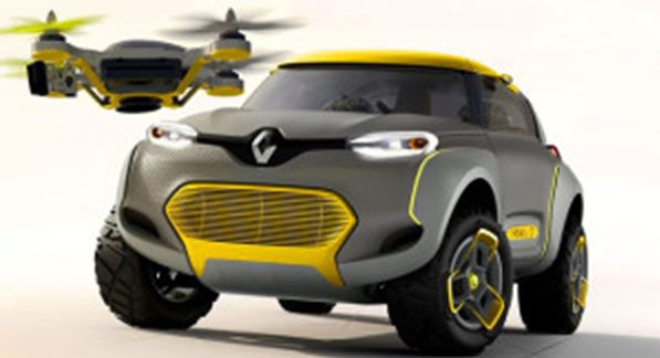 Renault's new concept car comes with a quad!
