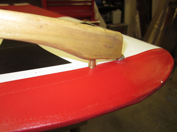 """Small details count: WW I """"Axe Handle"""" Wingtip Skids"""