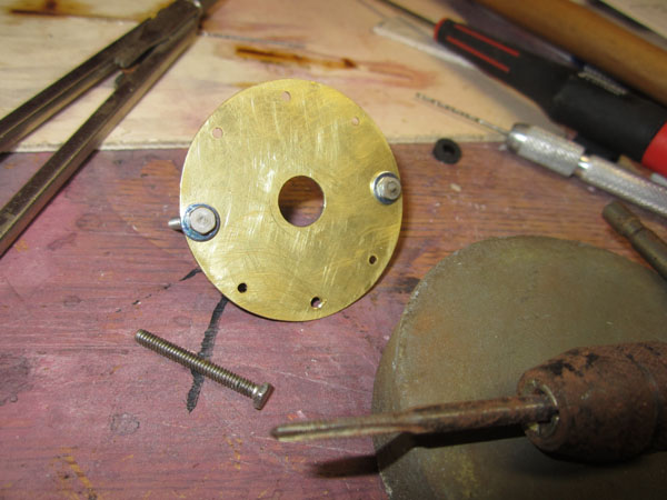 More WW1 Details -- Make a scale propeller faceplate