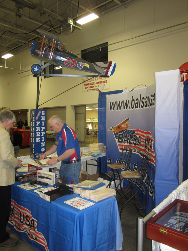 First time at the WRAM show was the Balsa USA team. Mark and Dave were very busy all weekend. WW1 experts all around!
