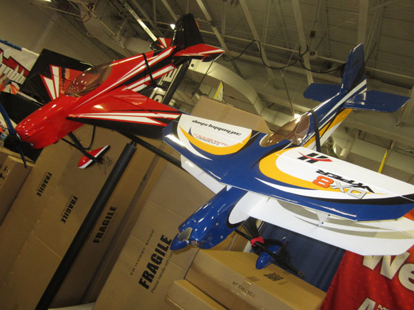 The Vyper aerobatic biplane looks great. Wing panels assemble with strong magnets.
