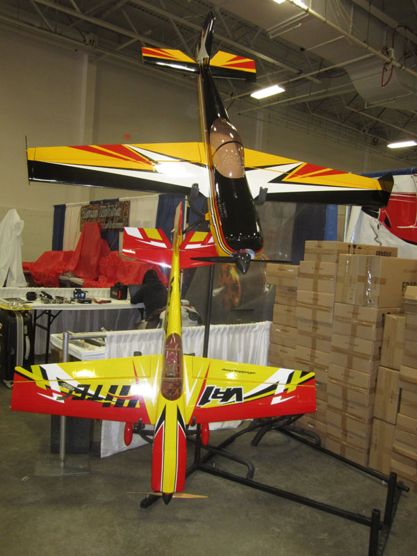Awesome giant scale aerobatic plans in the 3D Hobby booth