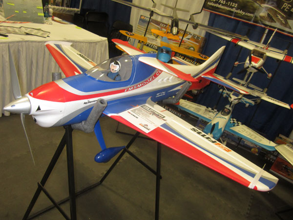 Aerobatic F3A Olympus semi-biplane design from FMS