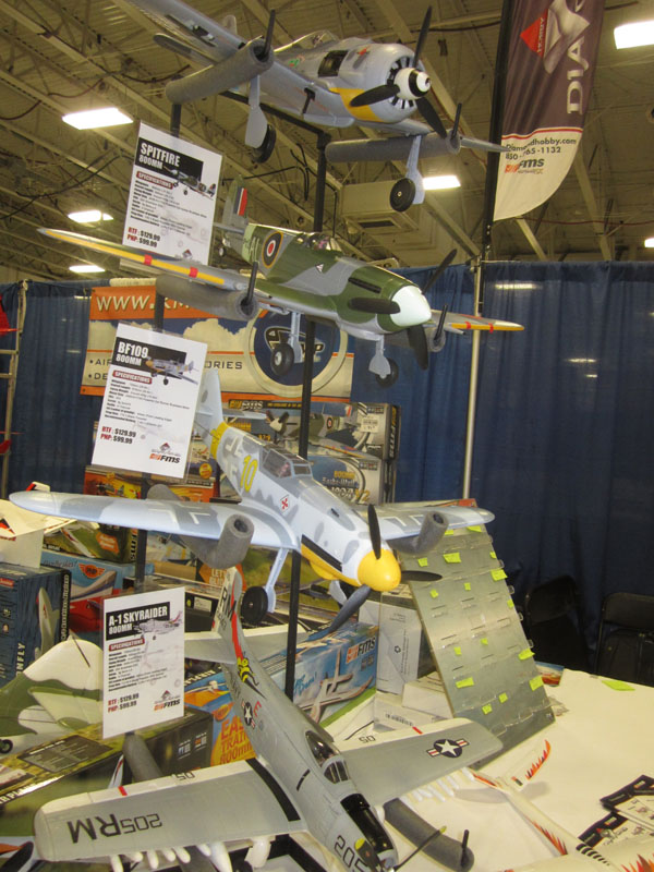 IMG_0420 Warbird foamies from FMS in the Diamond Hobby booth