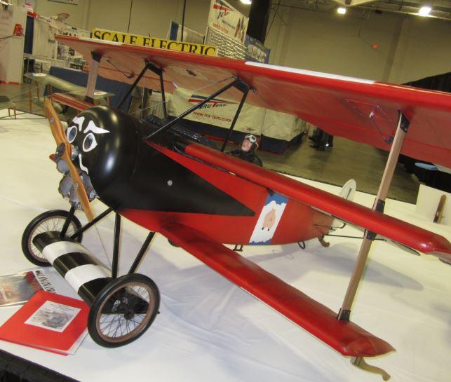 一架WW1飞机