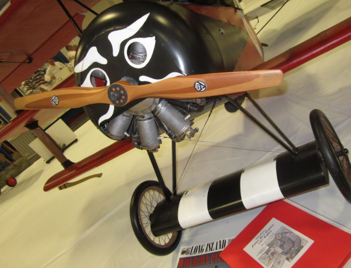 First Place Win at WRAM Show -- Gerry's Fokker Triplane