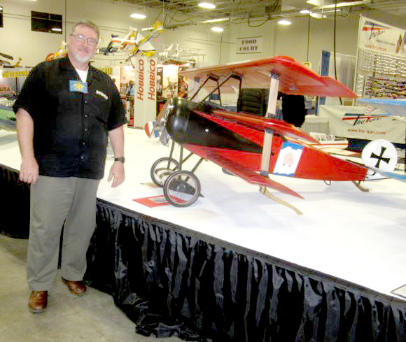 First Place Win at WRAM Show — Gerry's Fokker Triplane