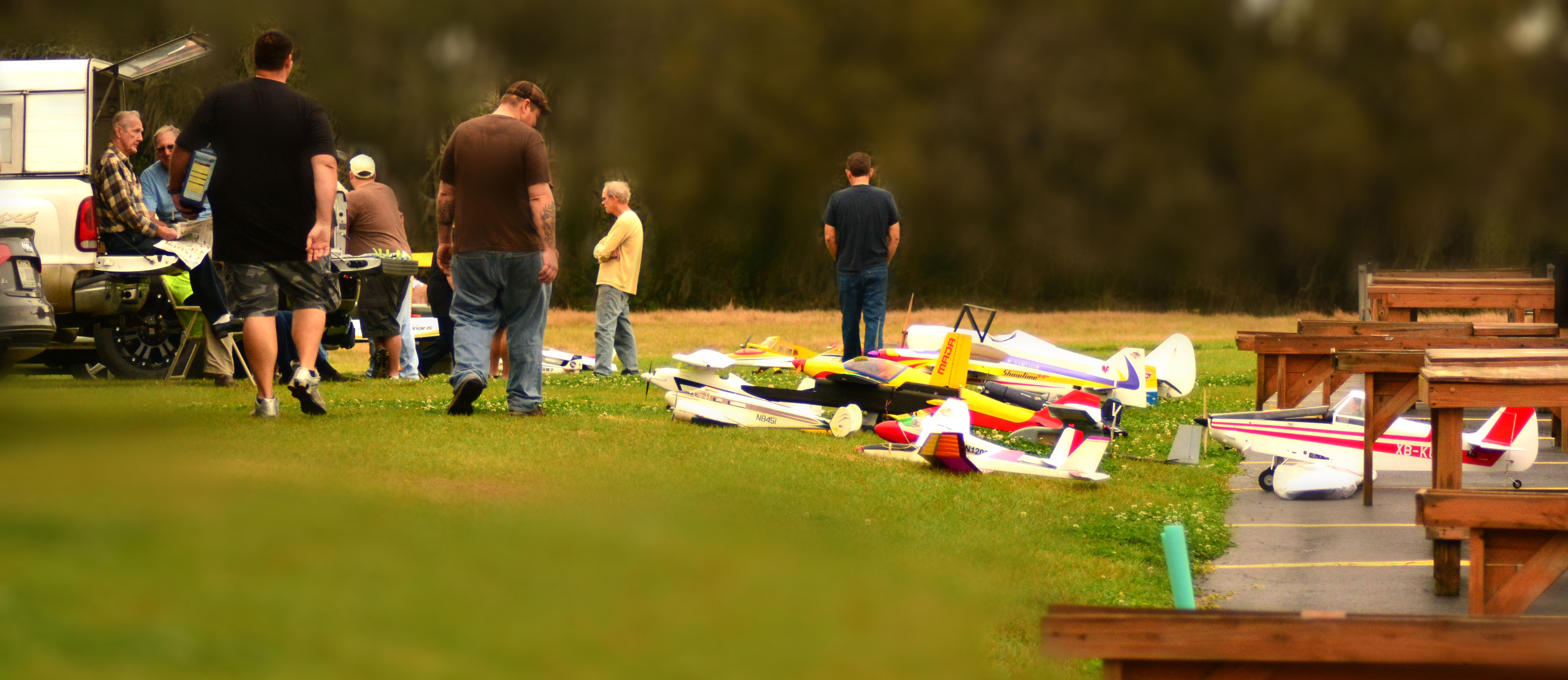Tampa RC Aircraft Club Flea Market Fun
