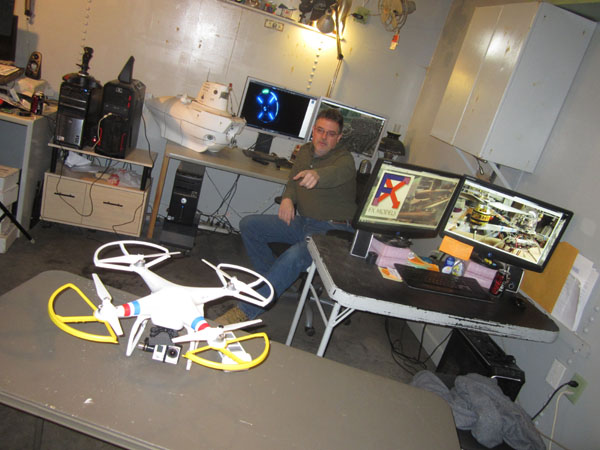 Behind the Scenes — RotorDrone Photo Shoot