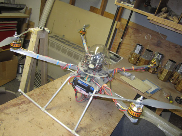 FX Models' Prototype Rotor Drone
