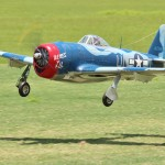 First place Pro-Am Sportsman, Anthony Ogle flying his 1/5 scale P-47M. DA-60, Spektrum 12X, Robart retracts.