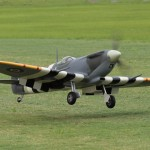 Lou Centrangelo competed in Pro-Am Sportsman with his Spitfire Mk.IX. Back for TG2014.