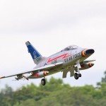 This F-100 Super Sabre was flown in Pro-Am Jet Class by Marco Benincasa.