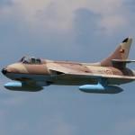 Pablo Fernandez's Hawker Hunter.