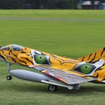Gustavo Campana's Mirage 2000 competed in Expert class at Top Gun 2013.