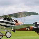 Richard Feroldi's WWI Albatros finished 5th in Masters class at  Top Gun 2013