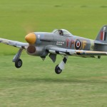 Fourth Place Masters in 2013, Roy Vaillancourt's 1/5-scale Hawker Typhoon.