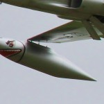 Finishing 3rd in the Masters class Bob Violett's F-80C Shooting Star was an impressive performing electric.
