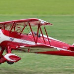 Walt Carnes & Greg Foushi competed in Team & won Best Biplane with this PT17 Stearman built by Walt.