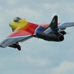 Jorge Escalona won Best Jet with his Hawker Hunter