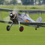 A seldom modeled aircraft this Gloster Gladiator by Craig Bryson won Best Pre WWII.