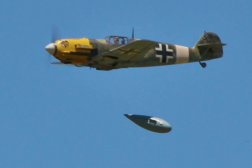 Jeff Foley's incredible BF-109E earned 2nd in the Masters class.