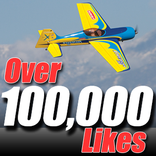 "100,000+ Facebook ""Likes"" and still growing!"