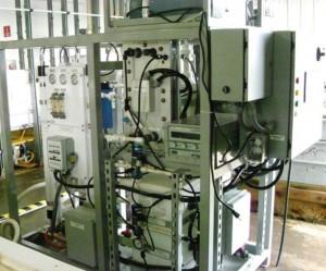 U.S. Naval Research Lab's E-CEM Carbon Capture Skid.
