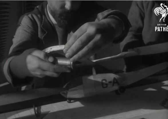 1951 Movie of Free-Flight Helicopter