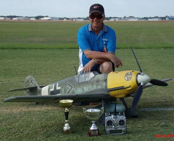 Road to Top Gun — Jeff Foley's Bf-109E