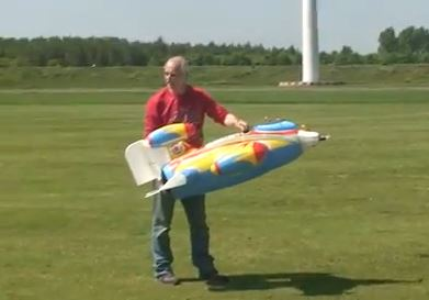 Blowjet's First Flight