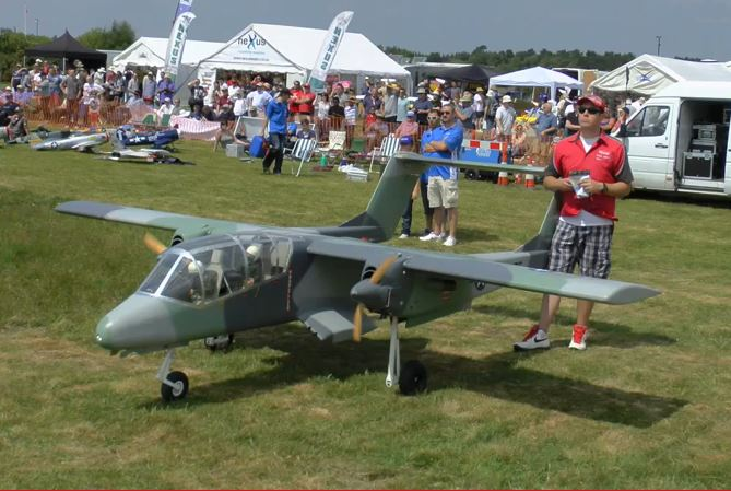 Model Airplane Monster OV-10 Bronco